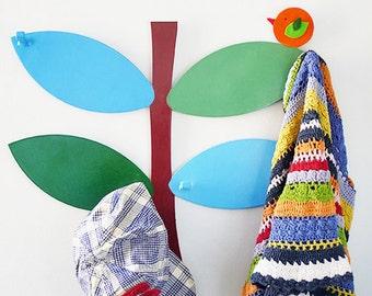 SALE | Coat Rack. Kids Coat Rack, Baby wall hanger. Kids wall decor. Tree wall decor. Wall decor. Wall hook for kids. Kids clothing rack