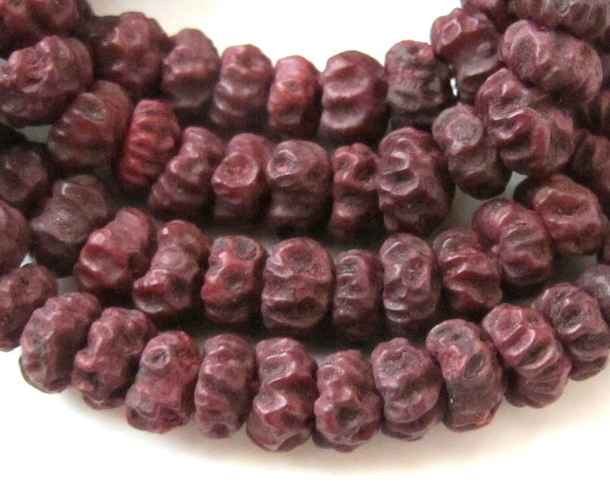 Natural seed beads  from Nepal - 25  beads lot- NB024
