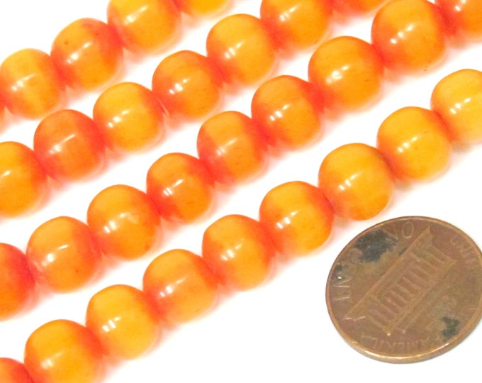 20 beads -  9 - 10 mm size  Light weight Tibetan resin mala beads supplies from Nepal - ML101B