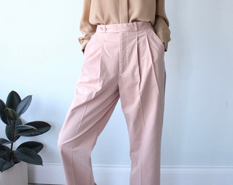 Pink Ralph Lauren Polo Straight  Pants Trousers W31