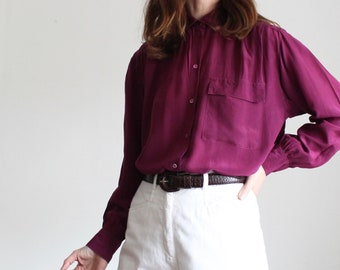 Liz Claiborne Pink Pure Silk Blouse