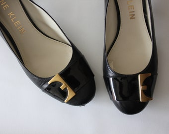 Anne Klein, 60's Inspired iFlex Buckle Pumps Shoes