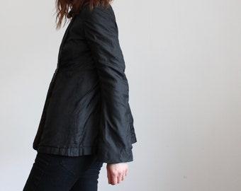 Michiko Koshino Black Silk Jacket