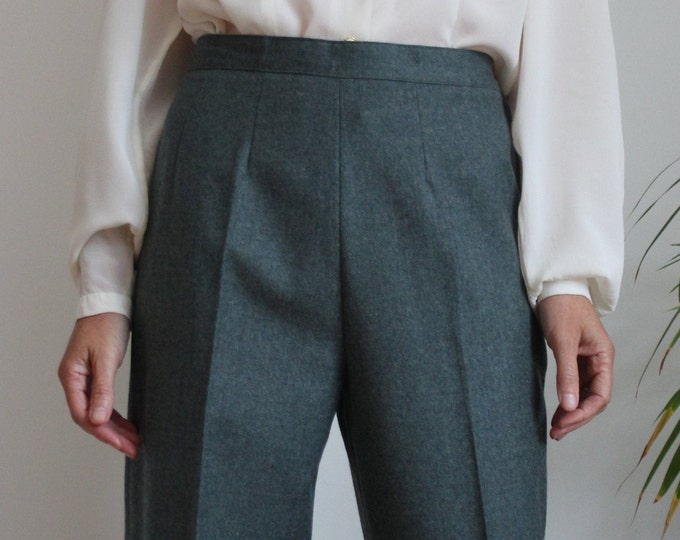 Featured listing image: Pure Wool Italian Teal Trousers