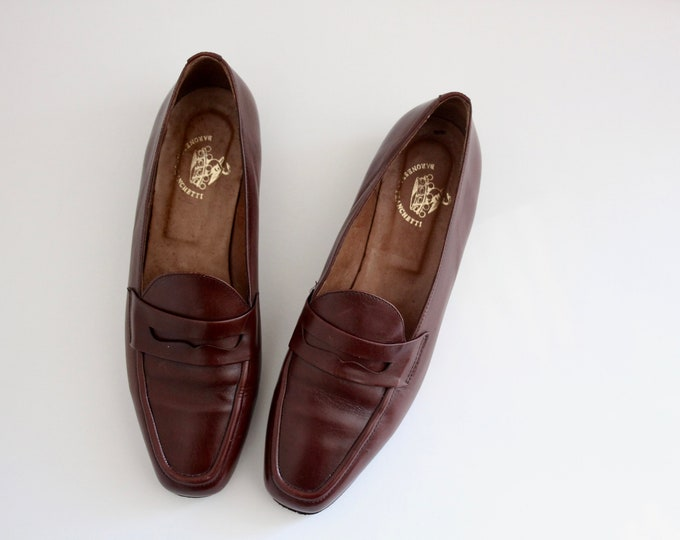 Featured listing image: Baroness Francetti Bond Brown Loafer Shoes