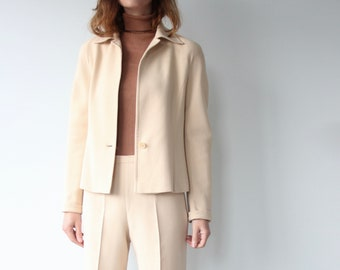 Vintage Max Mara 1970s Inspired Trouser Suit