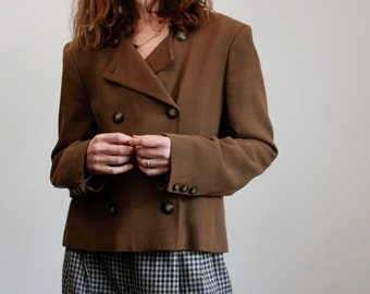 Patsy Seddon Short Brown Jacket