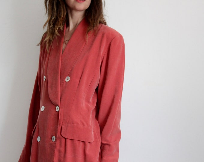 1980's Tailored Skirt Suit by Wallis Size UK 12-14