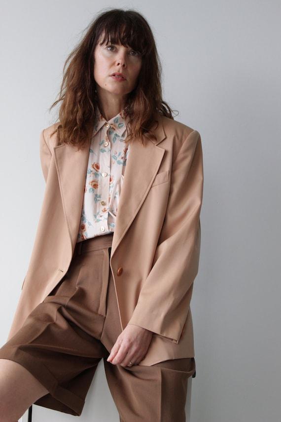 Vintage 1980s Marella Blazer Oversized Jacket