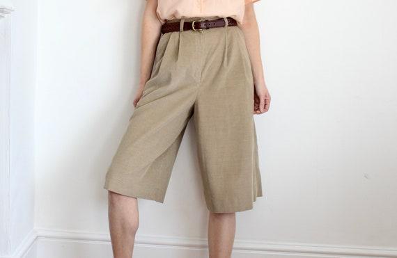 Cotton Corduroy Bermuda Style Jaeger Shorts