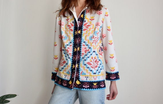 1970s Folklore Printed Shirt