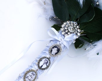 Bouquet Photo Charm Etsy
