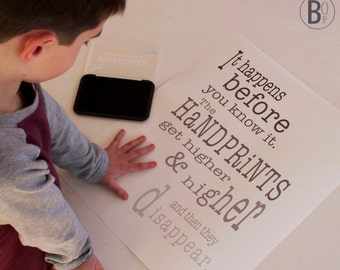 handprints poster