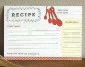 Sweet Southern Recipe Card Set (10)