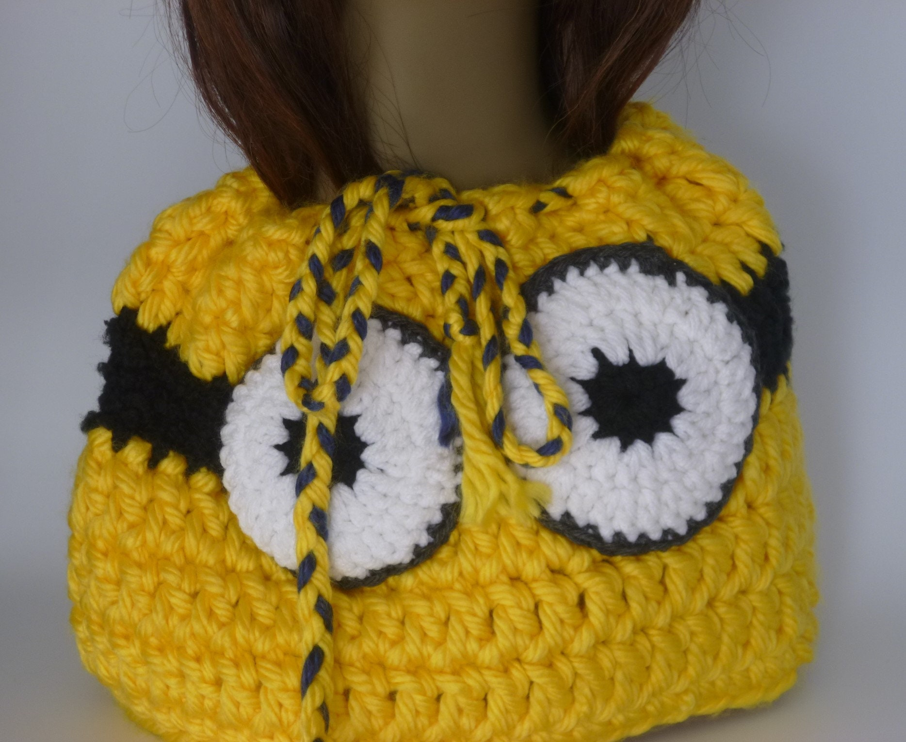 A lil bit of geekery Minion Inspired Neck Warmer