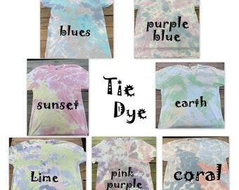 tie dye shirt-free shipping