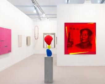 Mao Zedong Pop Art Warhol style print