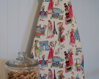 Ironing Board Cover - Michael Miller Springtime in Paris