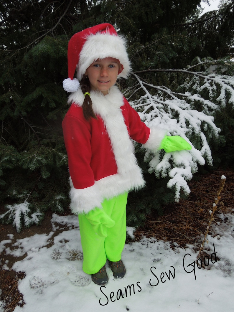 25/% off Fleece Christmas Thief Size 6 As Is