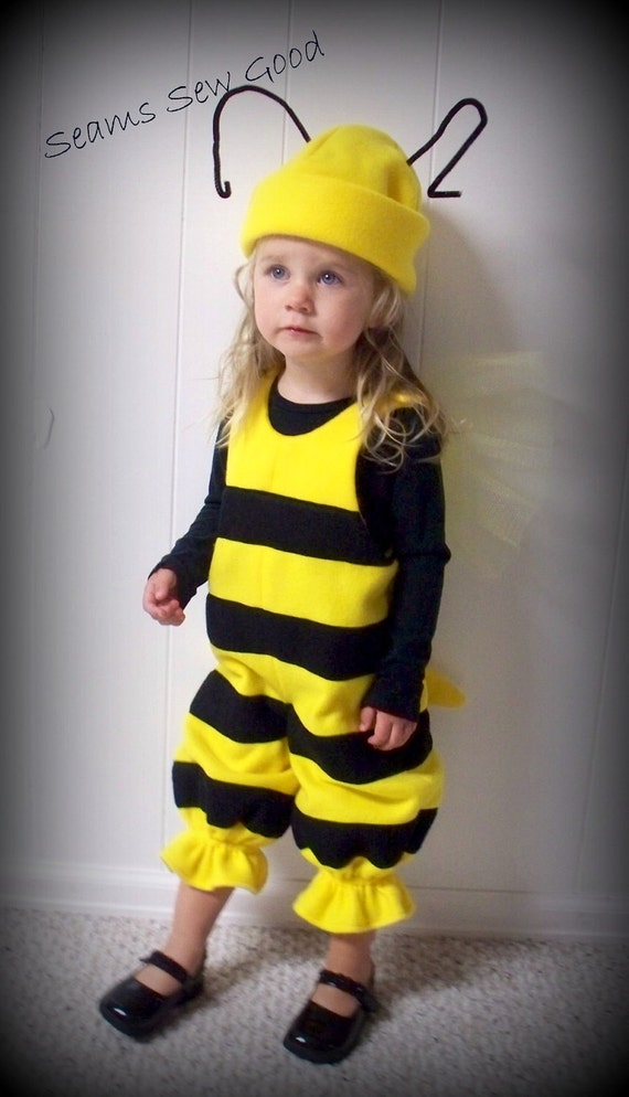 Bumble Bee Costume Toddler Bumble Bee Costume Boy Bumble Bee Etsy