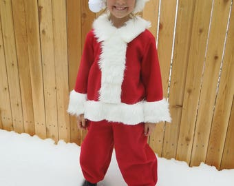 Santa Costume (baby, toddler, child)