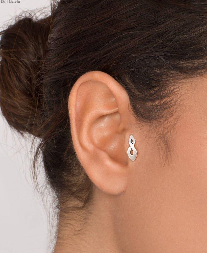 deb4d2609 Celtic Flame Tragus Earring tragus piercing silver tragus | Etsy