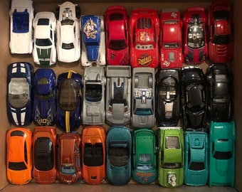 Toy Car Bundle, Hot Wheels Vintage Metal Car Collection, a Lot of Collectible Cars, Fun Bundle for Hot Wheels, Matchbox, Freaks Everywhere!