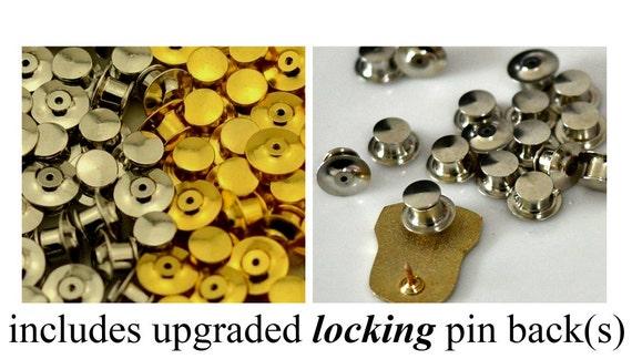 PORNO FOR PYROS vintage enamel pin button pinback… - image 3