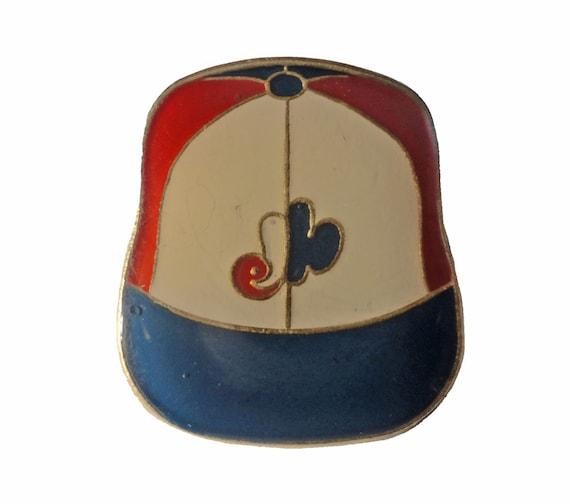 MONTREAL EXPOS Logo Baseball Cap mlb vintage enamel pin badge e5cd508b8d00