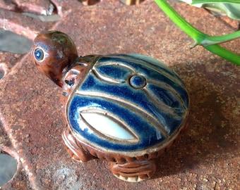 Vintage Pottery Turtle