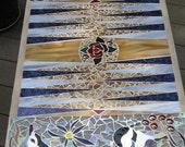 Items Similar To Mosaic Backgammon Table On Etsy