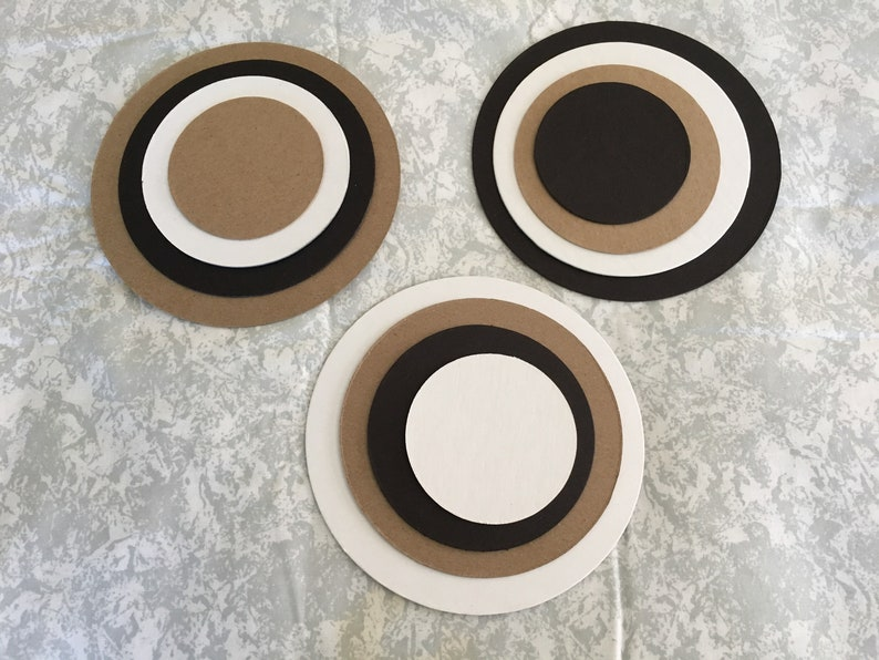 Circle Chipboards in 6 Sizes DIY Craft Kits-Party Decor-School Solar Crafts-Garland Banners-Wedding Decor-Planner Accessories-Circle Blanks