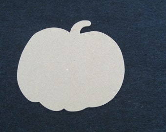 DIY Large Pumpkin Chipboard Shape - Blank Chipboard Pumpkins- Rustic Fall Weddings- Tags- Shapes for Decorating-Halloween-Fall Decor