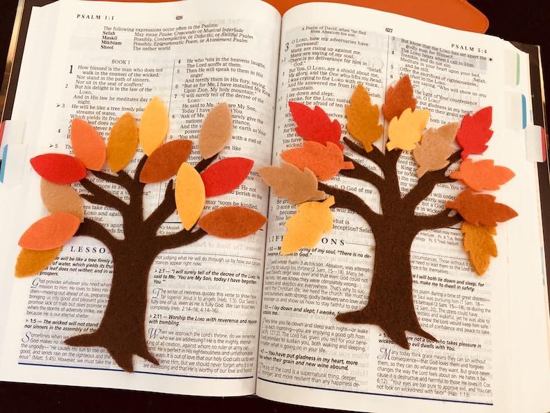 Felt Fall Tree Kit-Tree-Autumn Leaves-Die Cut Craft image 0