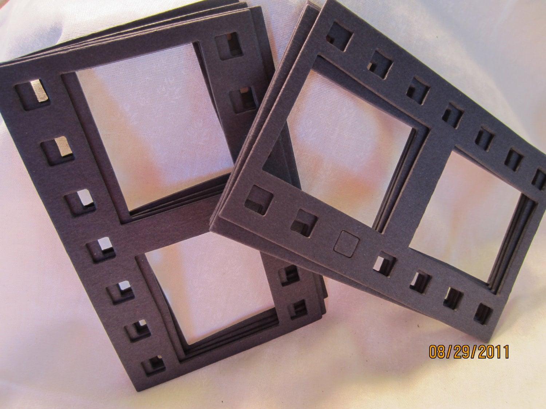 Schwarz DIY Film Streifen Rahmen-Rohling Spanplatten   Etsy