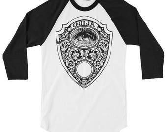 1349c15eb7a Ouija Planchette Raglan t shirt