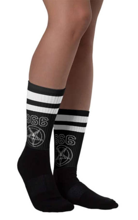Team Satan Athletic Socks