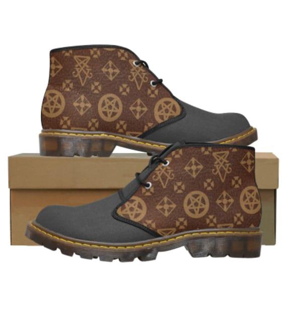 Lucifer Vuitton Chukka Shoes Ladies