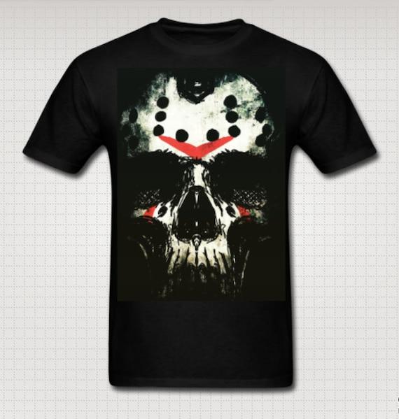 Friday the Thirteenth Jason Skull Tee shirt