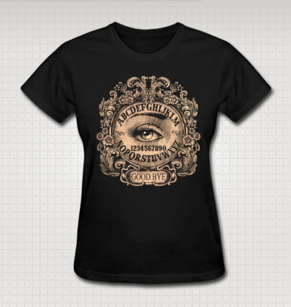 Ouija Board with Mystic Eye Tee shirt