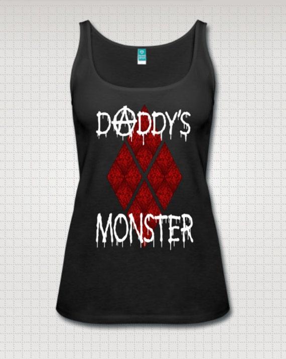 Daddy's Monster Harley tank