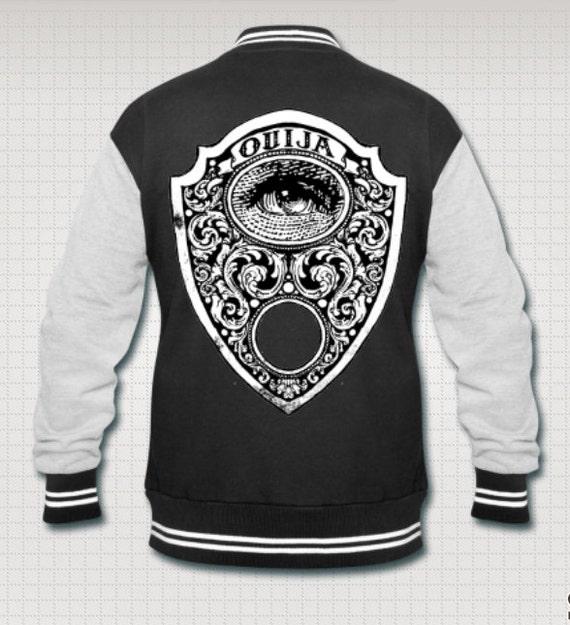 Ouija Mystic Eye varsity jacket