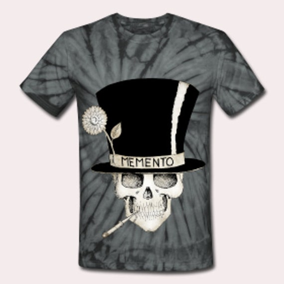 Voodoo Baron Samedi tie dye Tee shirt