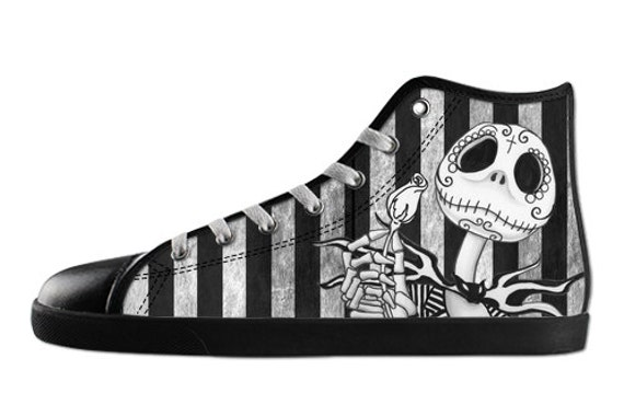 Jack Skellington Ladies High tops shoes