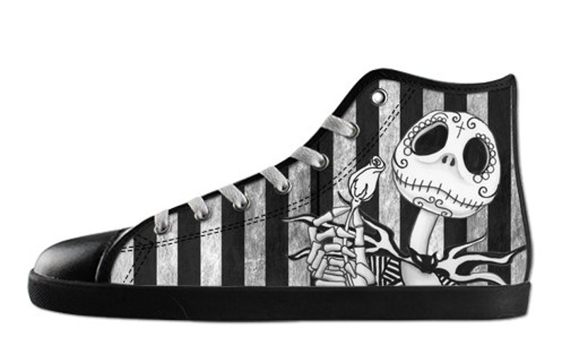 00dbc4f3f94f5 Jack Skellington Ladies High tops shoes