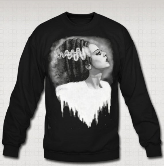 Bride of Frankenstein sweat shirt