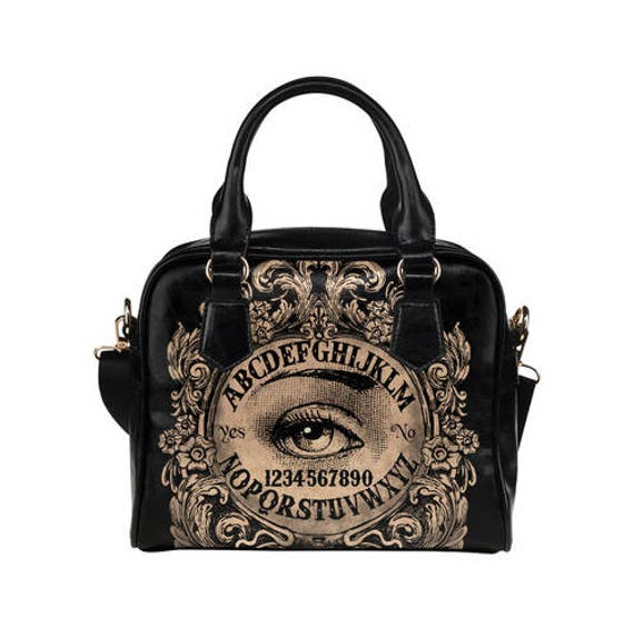 Mystic Eye Ouija Shoulder Handbag