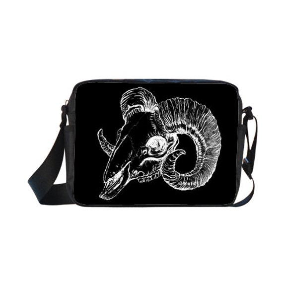 Ram Skull Cross-body Bag