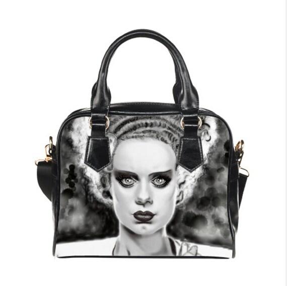 Frankenstein's Bride Shoulder Handbag