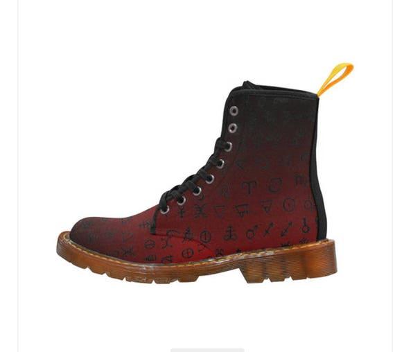 Alchemy Symbol boots Gents